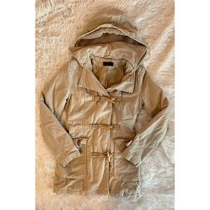 Vintage new look corduroy tan jacket with pockets
